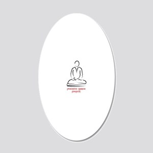 practice [Converted] 20x12 Oval Wall Decal